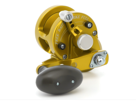 AVET SXJ5.3 SINGLE SPEED GOLD REEL