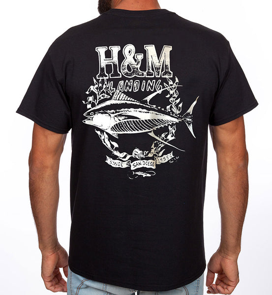 H&M Landing Scratch Tee Tuna Design