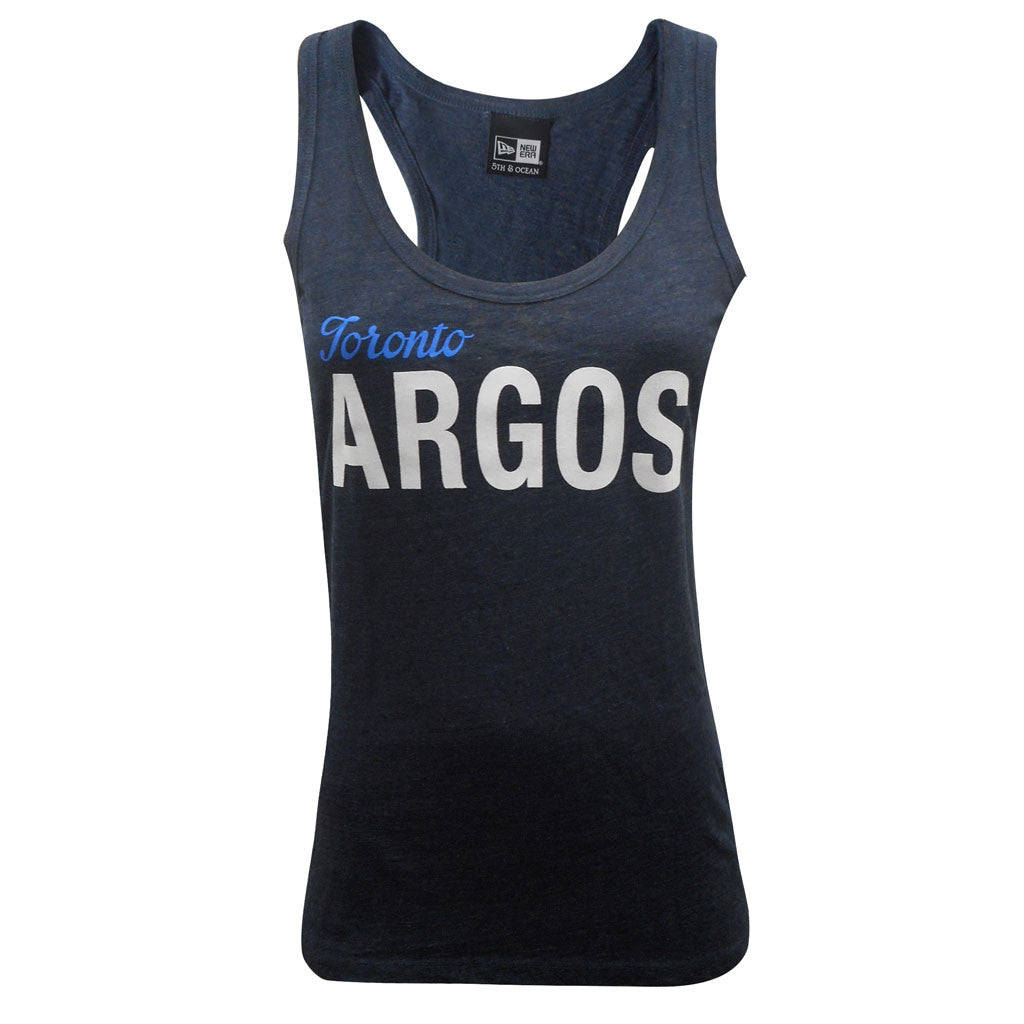 NEW Toronto Argonauts Ladies Navy Tank
