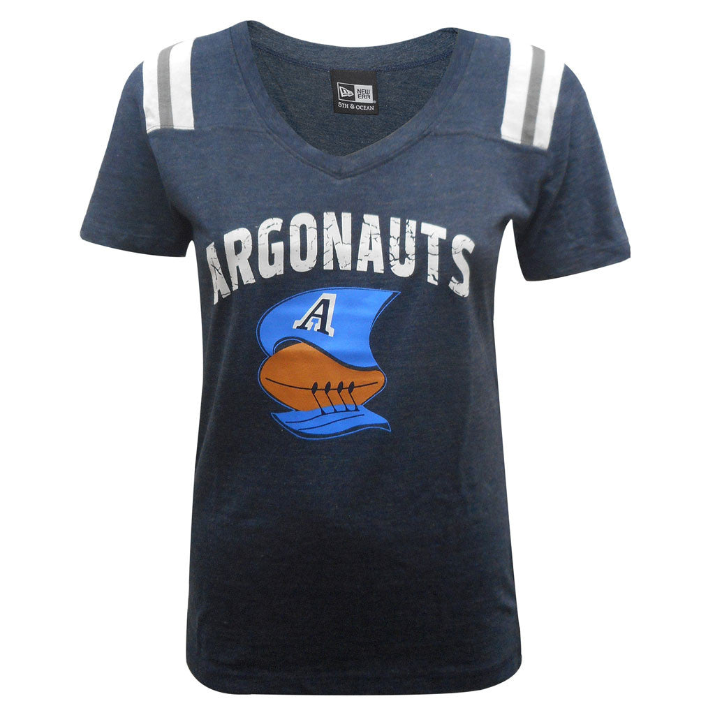 NEW Toronto Argonauts Boat Logo Collection Ladies Tee