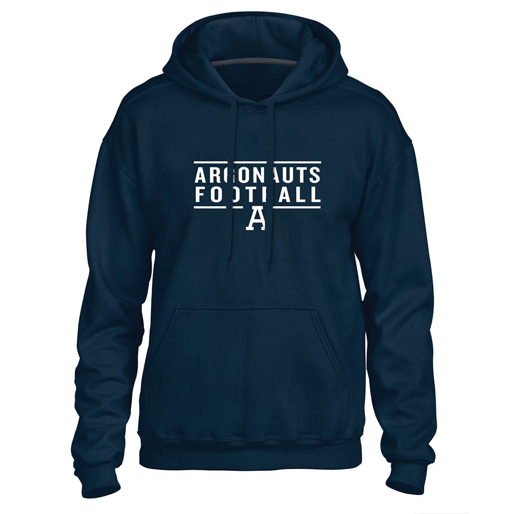 Toronto Argonauts Exclusive Adult Navy Hoodie - Design 24