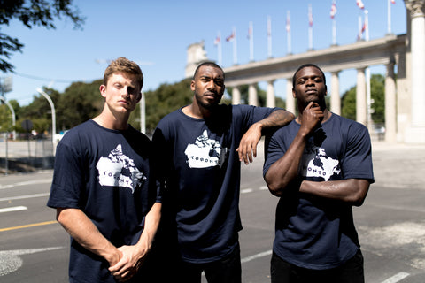 Toronto Argonauts 2018 Men's Map Navy Drop Tee