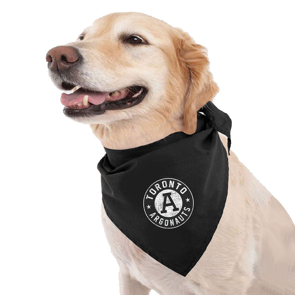 Toronto Argonauts Black Dog Bandana - Design 34