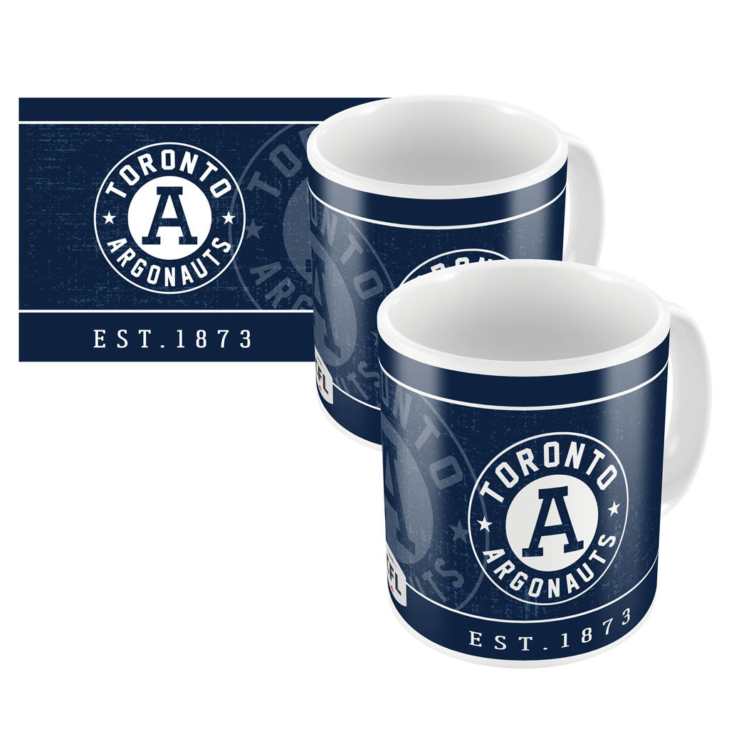 Toronto Argonauts Exclusive 2pk. 11oz Ceramic Mug Set