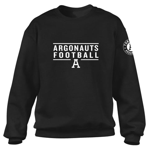 Toronto Argonauts Exclusive Adult Black Crew - Design 24/34