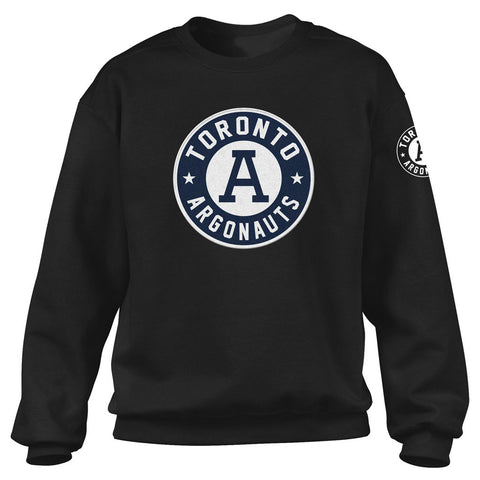 Toronto Argonauts Exclusive Adult Black Crew - Design 34/34