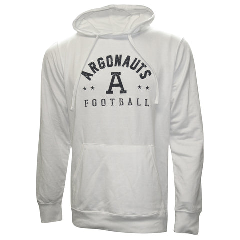 Toronto Argonauts Exclusive Adult White Hoodie - Design 34D