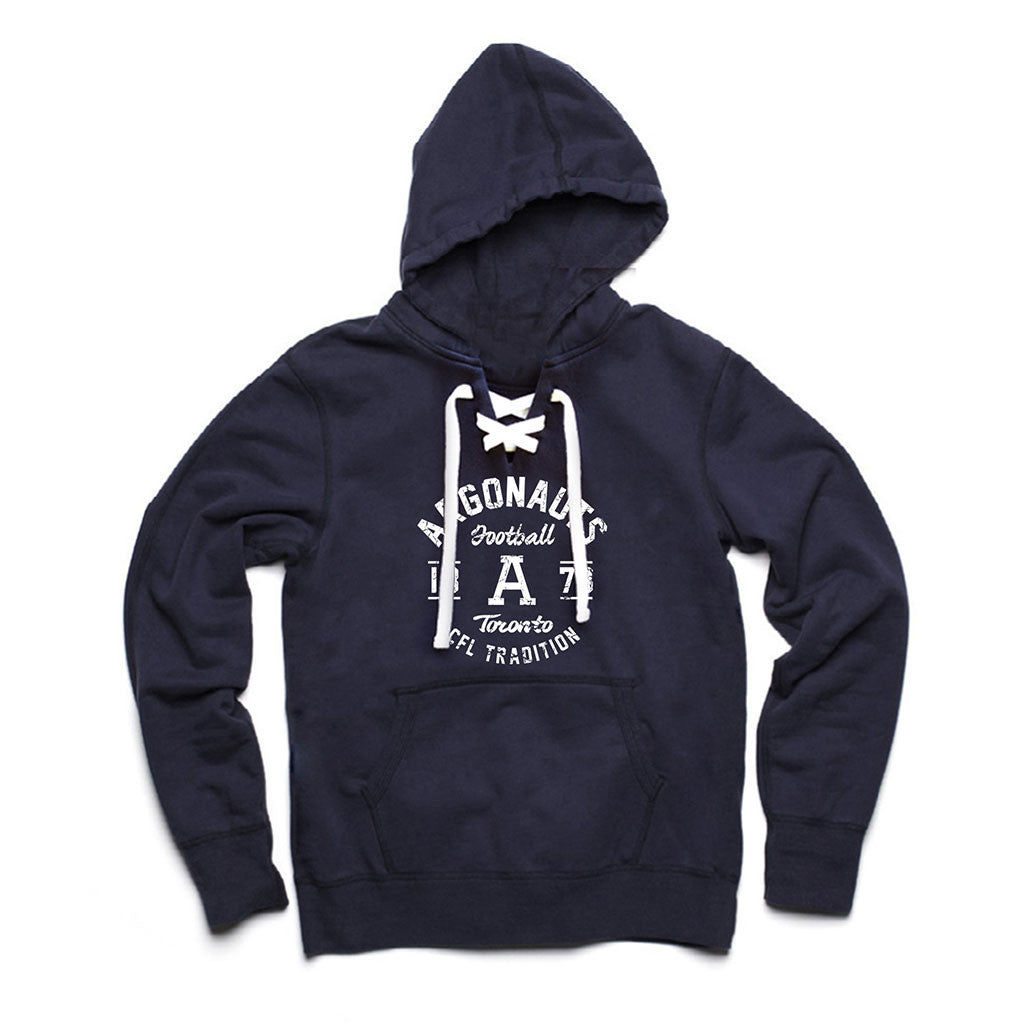 Toronto Argonauts Exclusive Navy Lace Hoodie - Design 004D