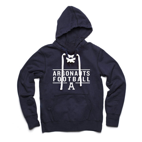 Toronto Argonauts Exclusive Navy Lace Hoodie - Design 24