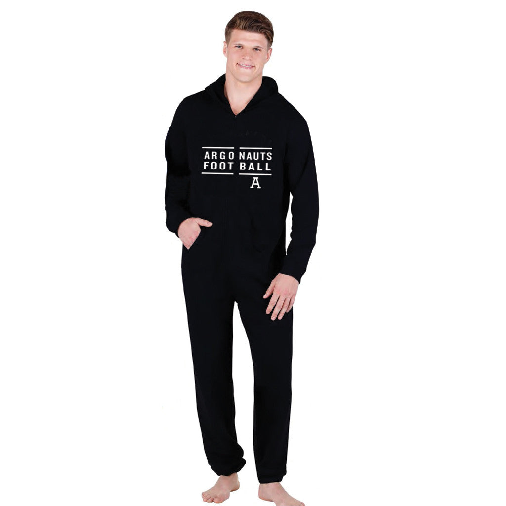 Toronto Argonauts Exclusive Adult Black Onesie