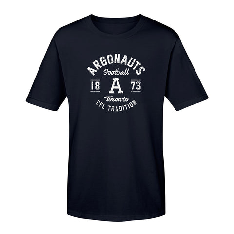 Toronto Argonauts Youth Exclusive Navy Tee - Design 004D