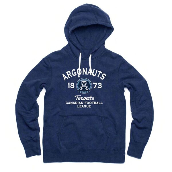 Toronto Argonauts Adult Navy Hoodie - Embroidered