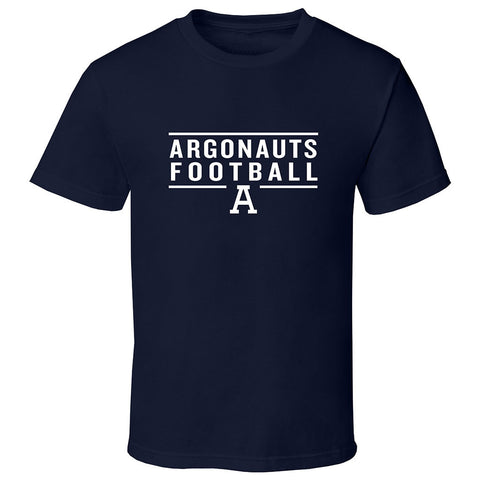 Toronto Argonauts Exclusive Adult Navy T-Shirt - Design 24
