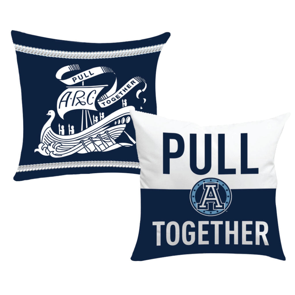 Toronto Argonauts 2018 12x12 Kids Room Pull Together / Arc Pillow