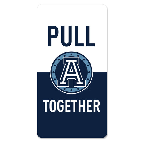 Toronto Argonauts 2018 30x60 Pull Together Stadium Blanket