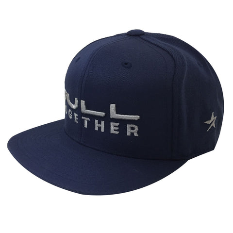 Toronto Argonauts 2018 Navy Adult Pull Together Snapback Hat OSFM