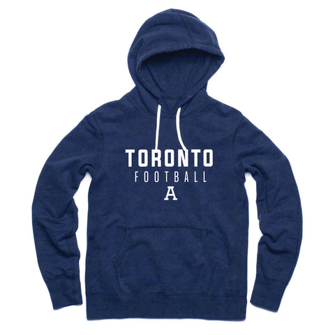 Toronto Argonauts 2017 Men's Navy Fashion Hoodie - Stacked Design