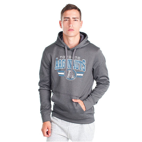 Toronto Argonauts 2018 Adult Charcoal Heather Performance Hood