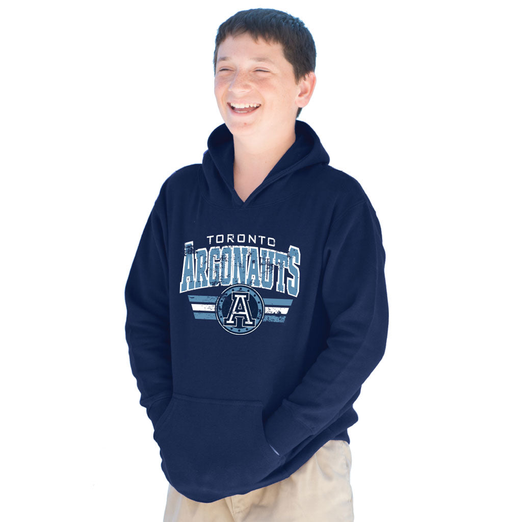 Toronto Argonauts 2018 Youth Navy Hood - Design 047