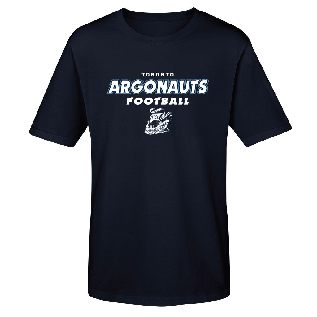 Toronto Argonauts 2018 Youth Navy SS Tee - Design 049D