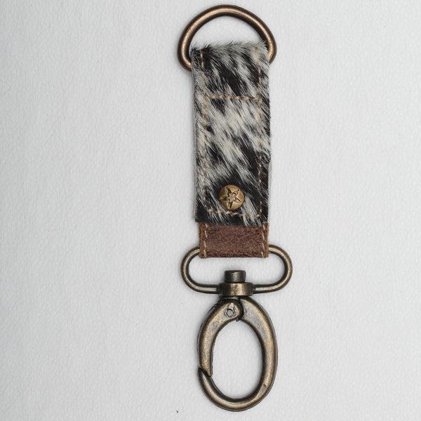 Cow Hide key fob