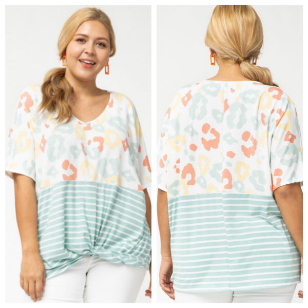 Jaded Jewel top (reg & plus)