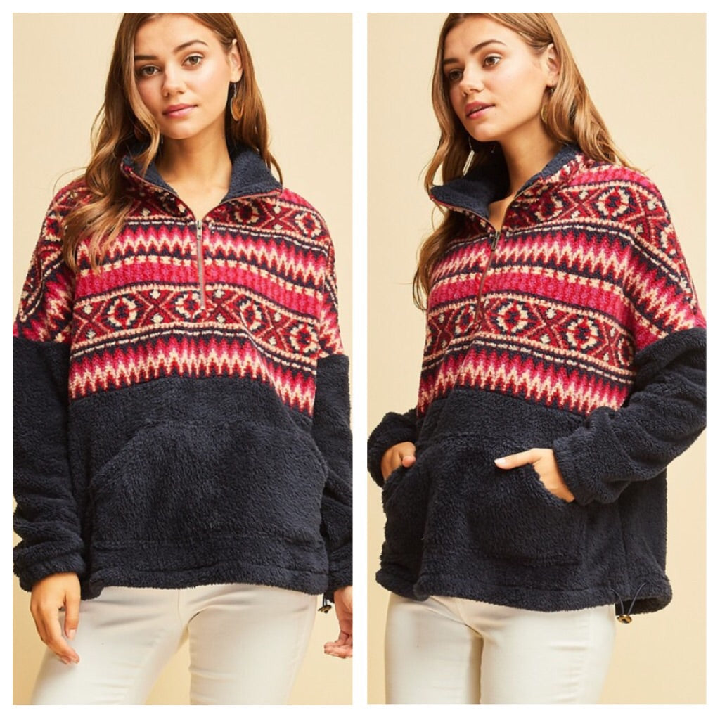 Forest Path pullover