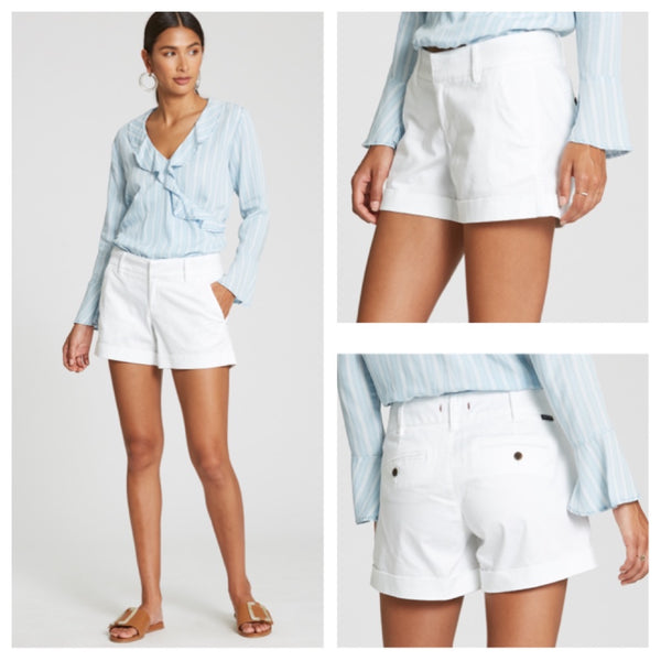 Dear John - Hampton short optical white