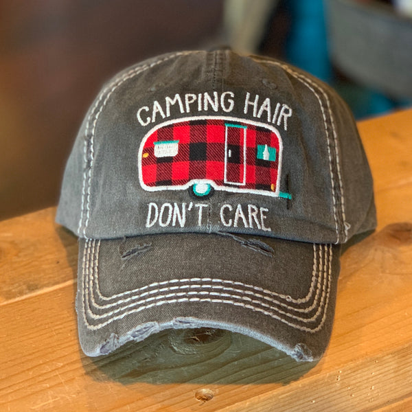 Camper Hair Don't Care hats