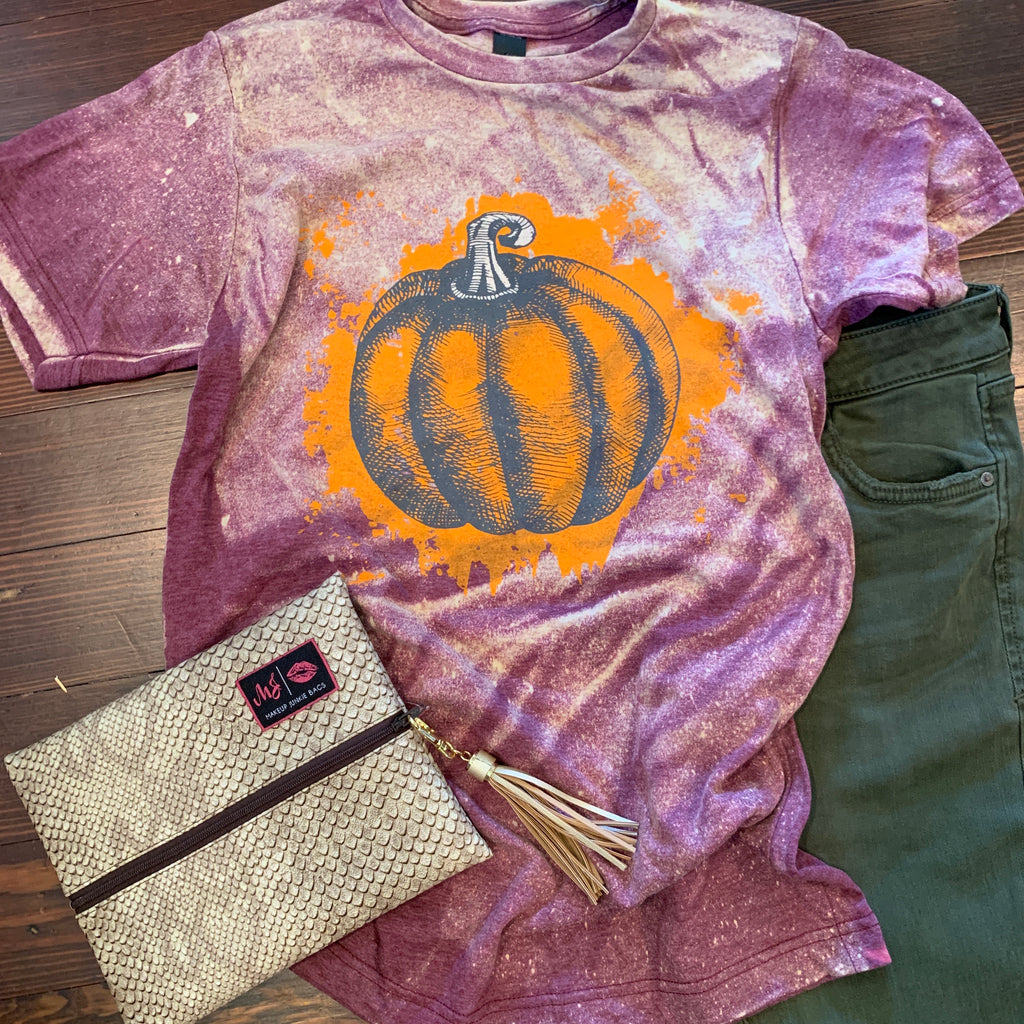 Pumpkin tee (reg & plus)