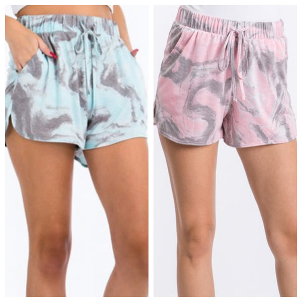 Abstract lounge shorts