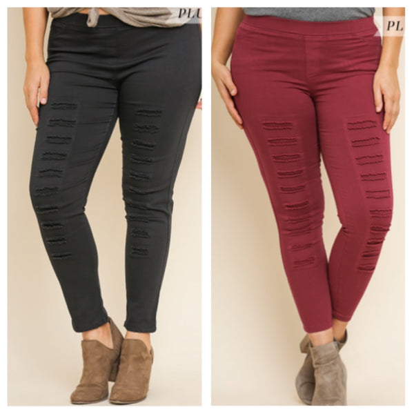 Tranquil Nights jeggings (reg & plus)