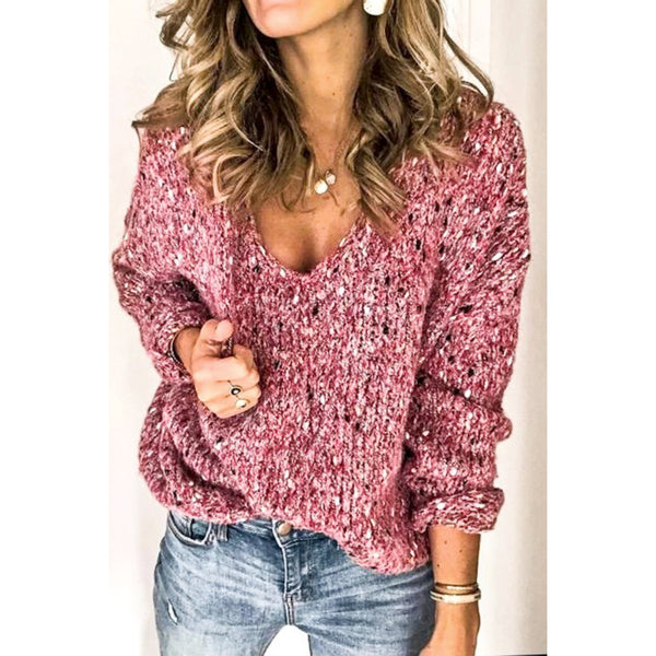 Blush Days sweater