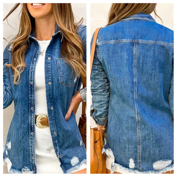 Denim Days top