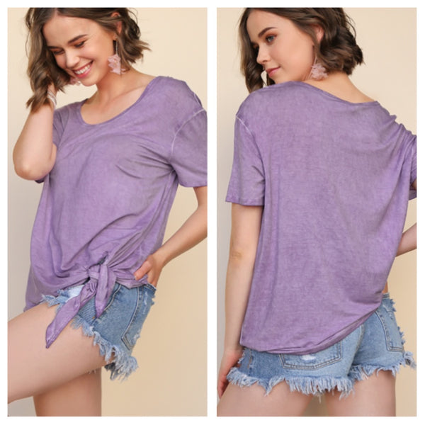 Lilac Love top (reg & plus)