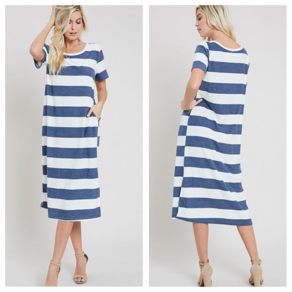 Calming Waves dress