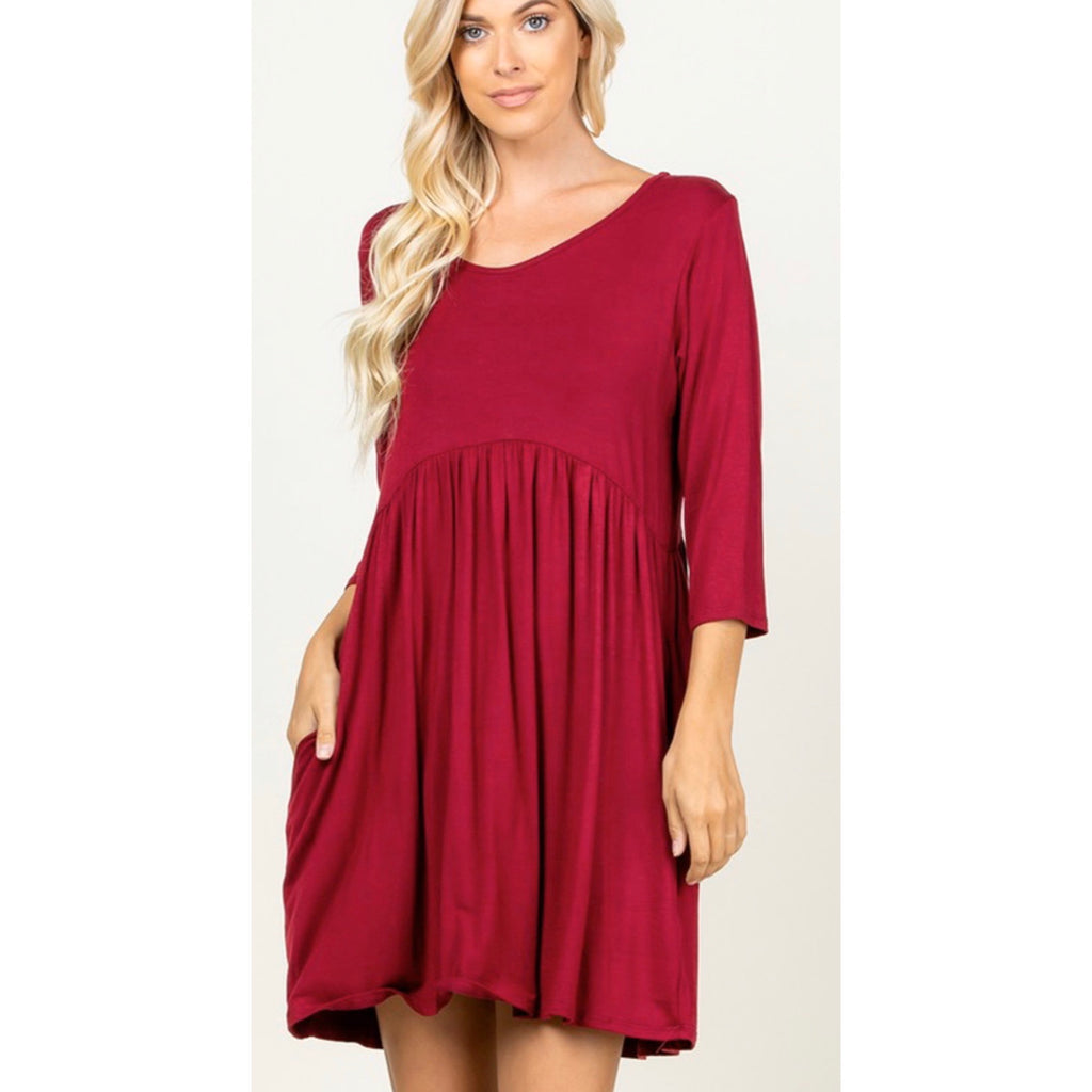 Winter Haven dress (reg & plus)