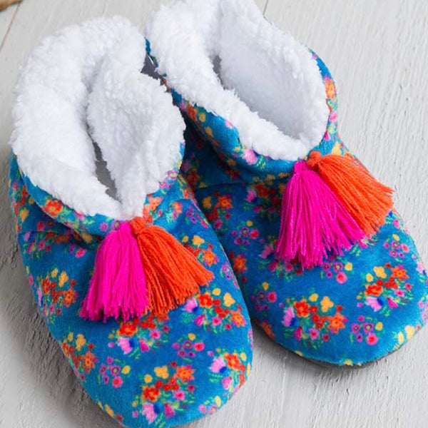 Cozy Floral slippers