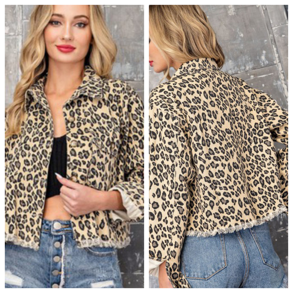 Leopard Nights jacket