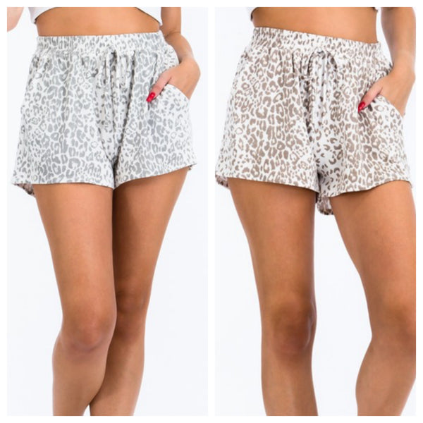 Animal lounge shorts