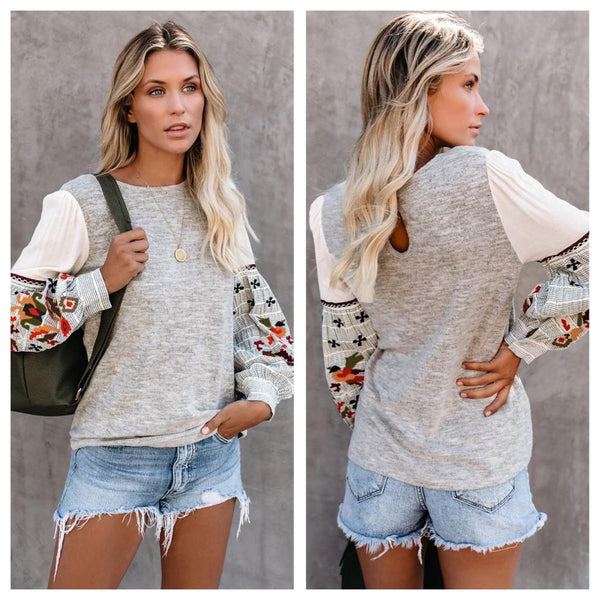 It's Fall top (reg & plus)