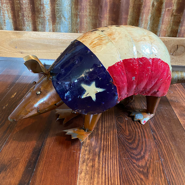 Metal-Armadillo Texas