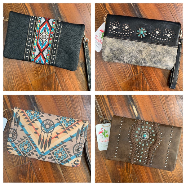Leather Clutch/Crossbody
