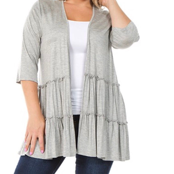 Dreaming Of Fall cardigan (plus)