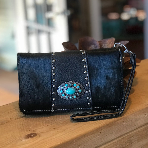 Hair-on wallet
