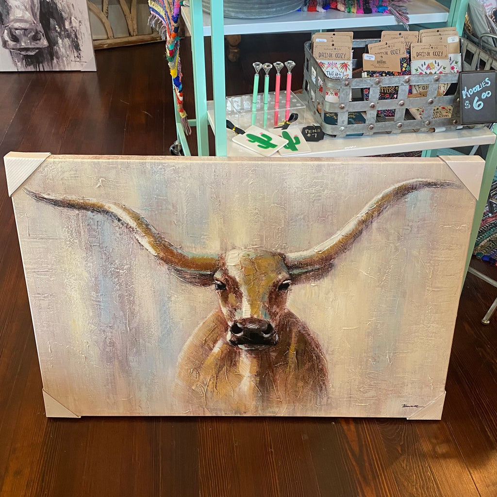 Longhorn canvas