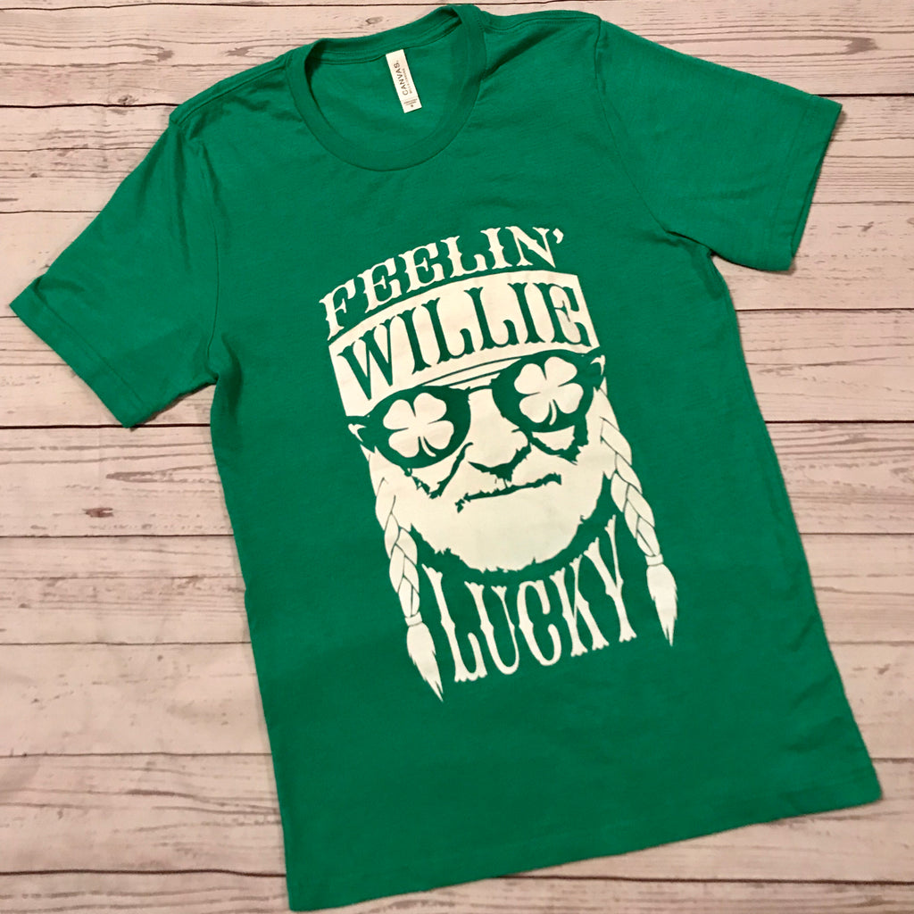 Feelin Willie Lucky tee