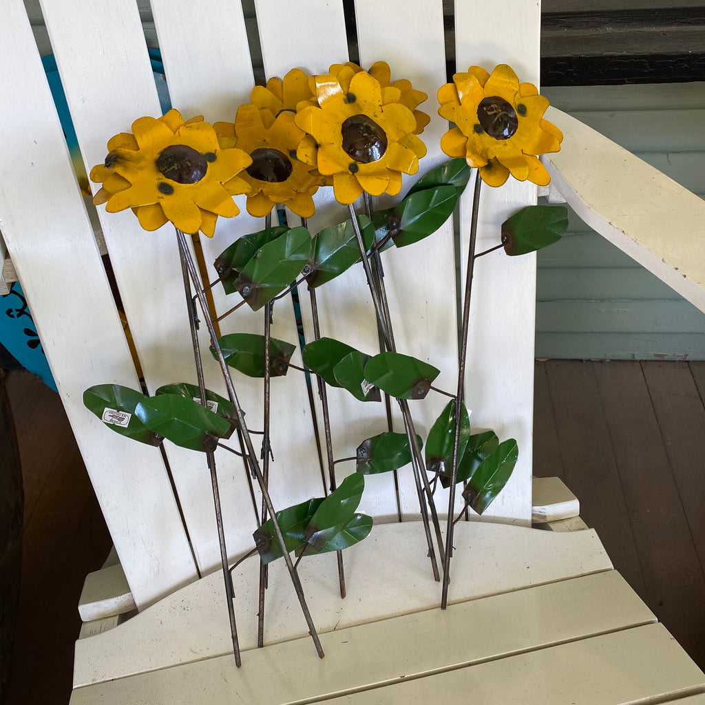 Metal-Single Small Sunflower