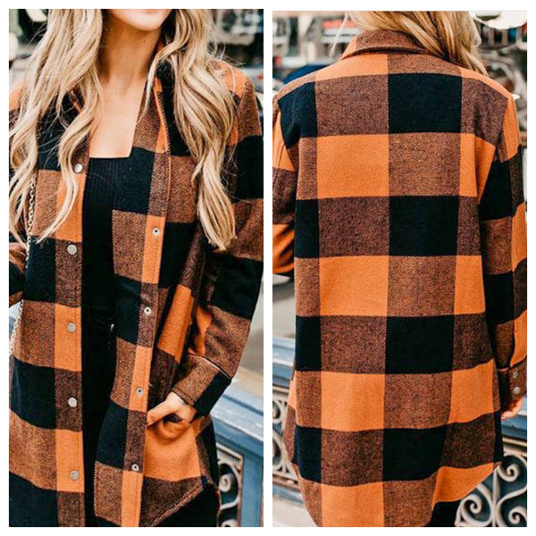 Flannel Days tunic