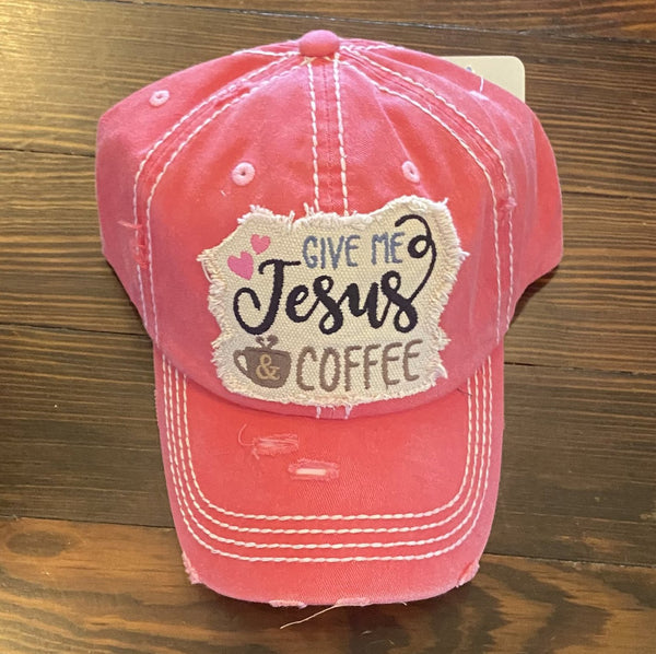 Give Me Jesus & Coffee hat